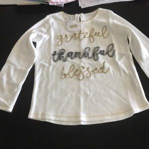 Brand New with tag - girls long sleeve tee